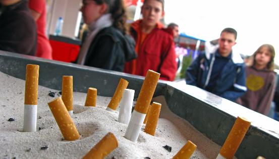 Das Rauchen einschränken ist keine gute Idee !